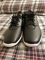 New Womens Golf Shoe Nike Roshe Tour G 10 Black MSRP $110 AR5582 001