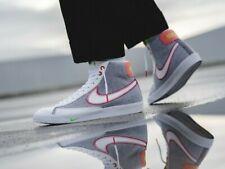 Nike Blazer Mid '77 Grey White Sport Red CW5838-022 Men's Shoes NEW