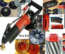 Sinkwork Kit Cut Polish Granite Undermount Sink core bit drum cup convex blade