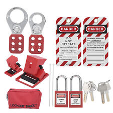Lockout Locks Lockout Tagout Kit Safety Electrical Multifunctional For Lock Out