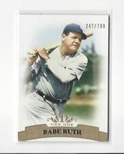 2011 Topps Tier One #3 Babe Ruth Yankees /799