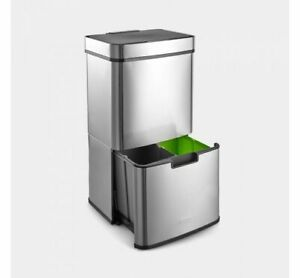 72L Automatic Smart Auto Sensor Dustbin Trash Can Waste Bin Kitchen Garbage Box