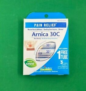 Boiron Arnica 30C 3 Tubes Pain Relief (80 Pellets per Tube) Homeopathic 2025