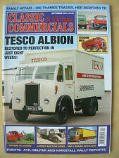 CLASSIC & VINTAGE COMMERCIALS MAGAZINE SEPTEMBER 2014 RESTORED TESCO ALBION