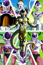 Dragon Ball Z/Super Poster Freeza Forms 12in x 18in Free Shipping