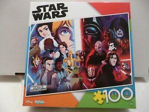 Disney Star Wars Light Versus Dark - 100 Piece Jigsaw Puzzle Free Shipping