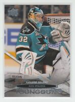 (67196) 2011-12 UPPER DECK YOUNG GUNS ALEX STALOCK #239
