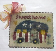 Silver Needle Sweet Home Cross Stitch Kit Secret Needle Night Camper Tiny House