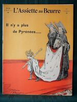 L'Assiette au Beurre #211 Spain & the Pyrenees 1905 French Satire Art