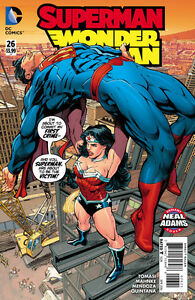 Superman/Wonder Woman (2013) #26 VF/NM Neal Adams Variant Cover 1st Printing