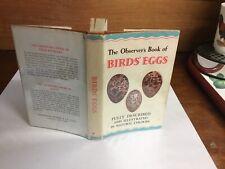 observers book of birds eggs 1965: