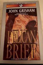 Pelican Brief John Grisham  Autographed Audiocassette Collectible Set