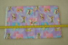 "By-the-Half-Yard, 43"" Wide, Fairies on Lavender Quilter's Cotton, Disney, M6545"
