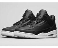 """2016 Nike Air Jordan Retro 3 """"Cyber Monday"""" SZ 5Y Black White GS 398614-020 New"""