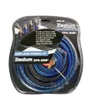 ZEALUM ZPK20S2  20mm²  Kabelset  Stromkabel Cinchkabel Verstärker Endstufe AMP