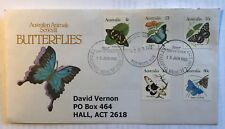Australian Animals Series III Butterflies First Day Cover 1983