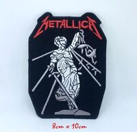 Metallica American Heavy Metal Band Embroidered Iron on Sew on Patch #1353