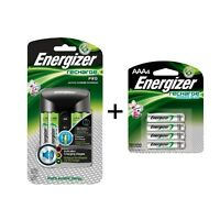 Energize Charger Recharge CHPROWB4 Pro  with 4 AA and 4 AAA batteries new