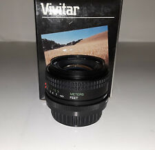 Vivitar 28mm/f2.8 Interchangeable Macro 1:5x Lens for Pentax KA/Ricoh (BRAND NEW