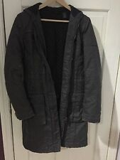 DKNY Jeans Dark Grey Puffer Jacket Coat M