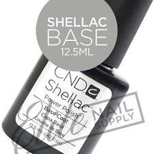CND SHELLAC Base Coat 12.5ml - Large Size + FREE CND Foil Remover Wraps 10ct