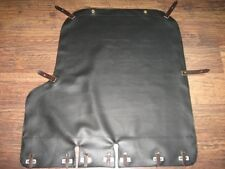 M72 K750 Top Quality Black Sidecar Cover Tonneau  Contrasting Leather Straps