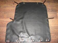 M72 K750 Máxima Calidad Negro Sidecar Cubierta Tonneau en contraste correas de cuero