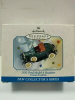 1998 Hallmark Ornament 1931 Ford Model A Roadster  #1 Vintage Roadsters Series