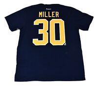 Reebok NHL Mens Buffalo Sabres Ryan Miller Hockey Shirt Look XL