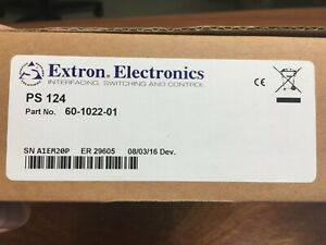 Brand New Extron Electronics Power Supply PS124 part no 60-1022-01