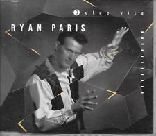 RYAN PARIS - Dolce vita (BEN LIEBRAND REMIXES) CDM 6TR Italo Disco 1990 Holland