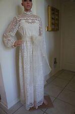 Lovely Vintage Lace Wedding Dress or Formal