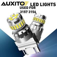 2x AUXITO LED 3047 3157 3156 4057 4157 Back up Reverse Bulbs Light White 3055 6K