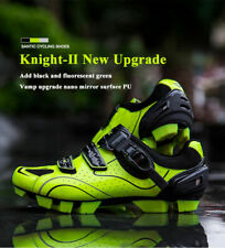 Santic Men Cycling Shoes MTB Self-Locking Sports Riding Shoes Green-Knight Ⅱ