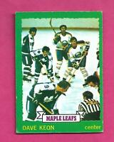 1973-74 OPC # 150 LEAFS DAVE KEON EX+  CARD (INV# D2556)