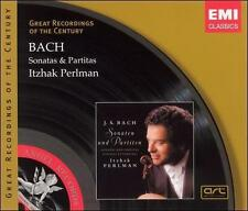 Brand New Itzhak Perlman - Bach Sonatas & Partitas 2CDs EMI Classics