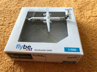 Herpa Wings 1:500 flybe Bombardier Q400 mit Box