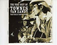 CD TOWNES VAN ZANDTthe very best of2CD EX-UK 2002  (A4046)