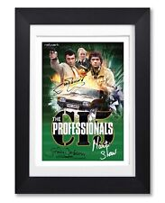 THE PROFESSIONALS TV SERIES SEASON DVD SIGNED POSTER PRINT PHOTO AUTOGRAPH GIFT