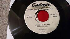 Rare Jump Blues Sam Butera Reverie Who's Got the Key Groove 0033 1954 VG+ WLP