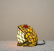 A Big Fat Frog Stained Glass Handcrafted Night Light Table Desk Lamp. Cute!