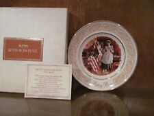 """Avon Betsy Ross Plate 9"""" Enoch Wedgewood New In Box 1973"""