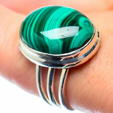 Malachite 925 Sterling Silver Ring Size 8 Ana Co Jewelry R26420F
