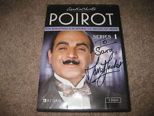 David Suchet Hand-Signed Autographed Series 2 Agatha Christie's Poirot DVD