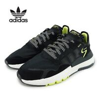 NEW Adidas Originals Nite Jogger Black/Neon Size 12.5 Men's EG7409