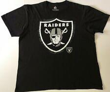 Authentic Oakland Raiders Majestic Shirt Triple Peak XXL LAS VEGAS NFL