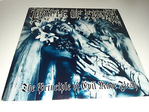 """CRADLE OF FILTH """"The principle of evil made flesh"""" lp (Cacophonous, 1994) VG+/NM"""