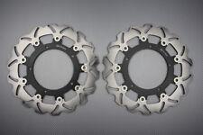 Disques frein avant wave 300mm pour Yamaha FZ6R XJ6 /XJ6 Diversion 600CC 09-11