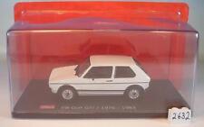 Schuco 1/43 Volkswagen VW Golf GTI blanco (1976 - 1983) en OVP #2632