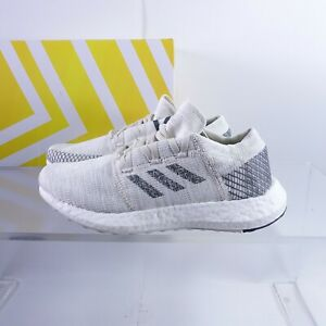 Size 6.5Y Youth / Women's 8 adidas PureBoost Go Sneakers F34005 Beige White
